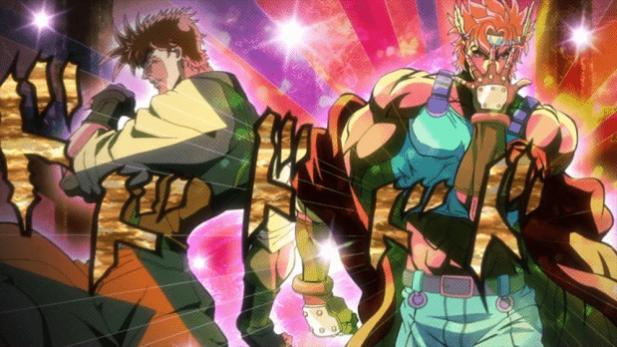 Jojo - Battle Tendency Anime