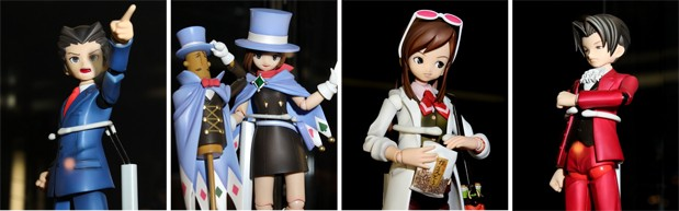 Gyakuten Saiban Volks Figures