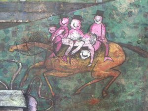 detail of Farmer's Wife