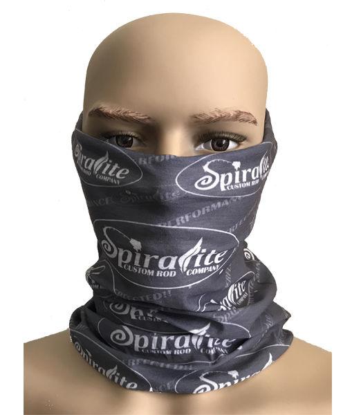 Face Shield WHITE SPIRALITE LOGO