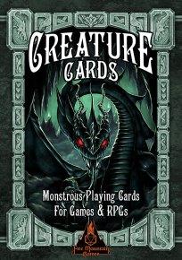 Creature Cards Box Cover Design