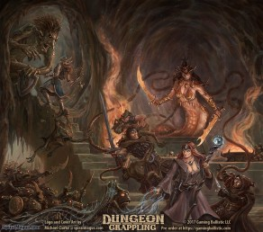Dungeon Grappling Cover Art