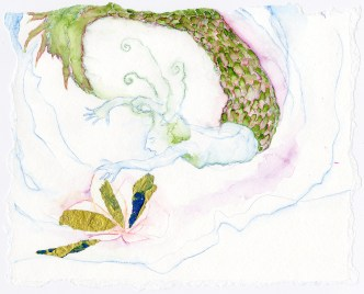 "Rachel Dobson, ""Lighting a fire for the ancestors,"" 2015"