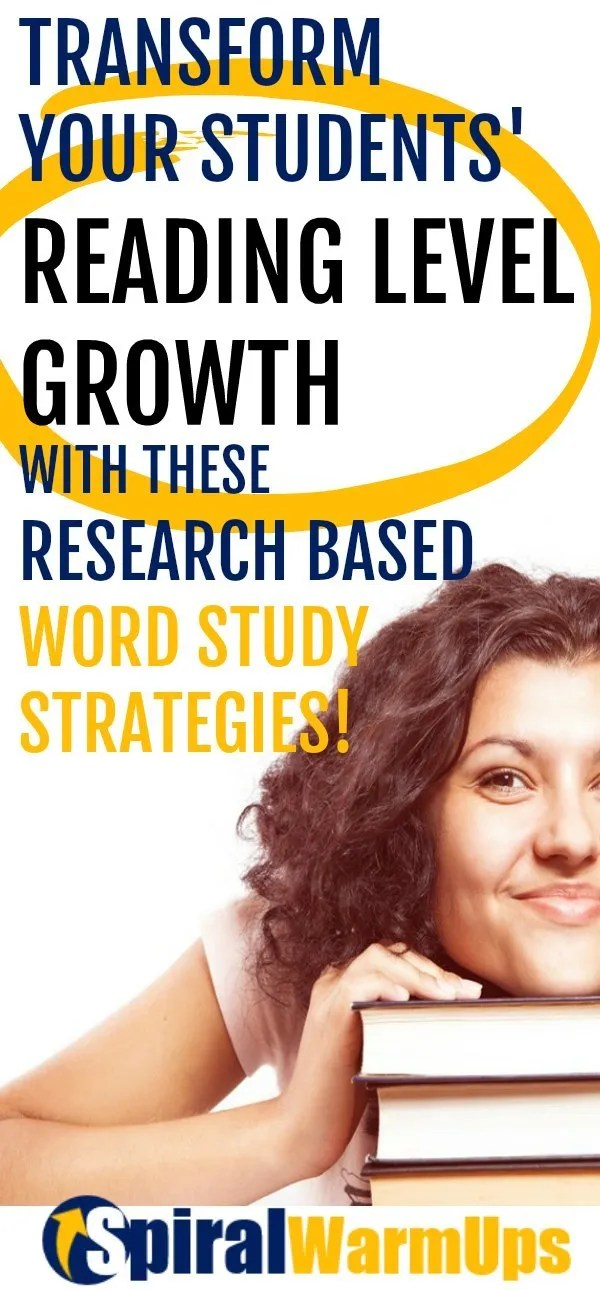 These research-based strategies will increase reading comprehension for upper elementary and middle school students.