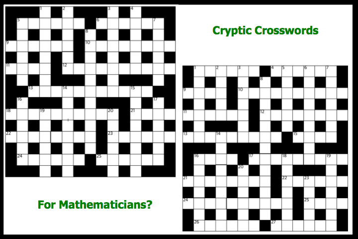 CrypticCrosswords4Mathematicians