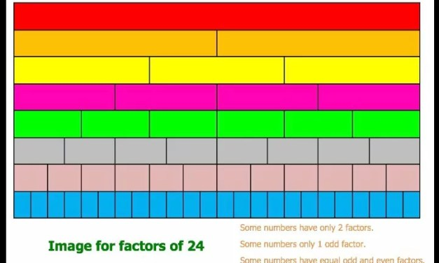 Factors of 24 Image
