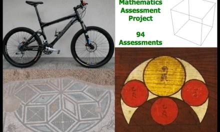 Mathematics Assessment Project Assessment Tasks