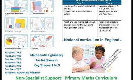Primary Maths Curriculum