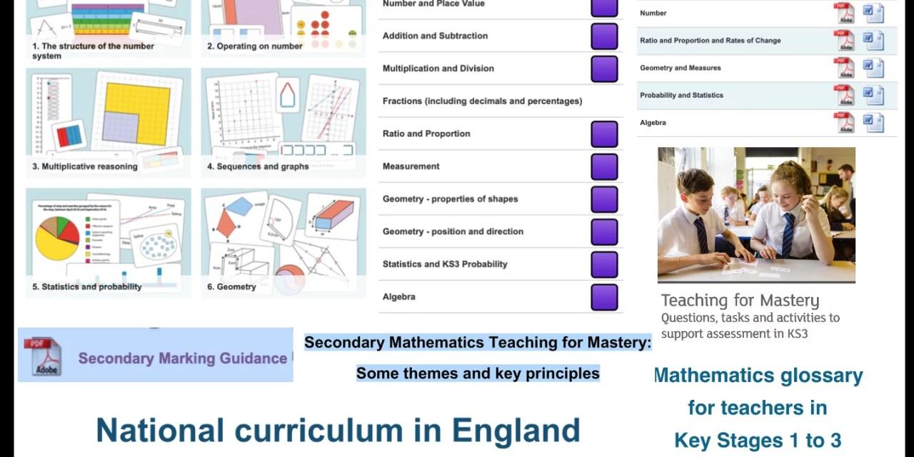 Secondary Maths Curriculum