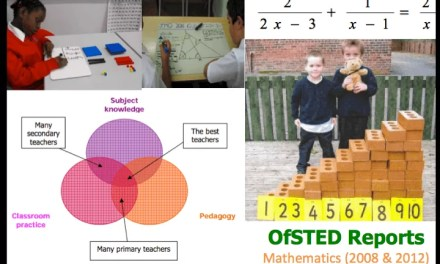 OfSTED Reports on Mathematics