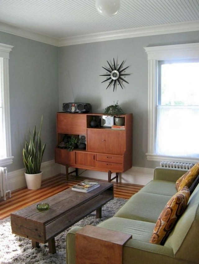49+ Awesome Mid Century Modern Living Room Furniture Ideas ...