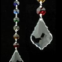 Cristal de fenêtre 7 Chakra Feng-Shui - Harmonie