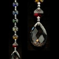Cristal de fenêtre 7 Chakra Feng-Shui - Amrita