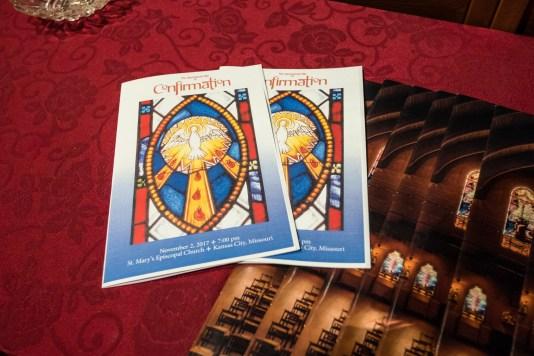 On Thursday November 2, St. Mary's Episcopal Church, Kansas City, hosted diocesan Area Confirmations Image credit: Gary Allman
