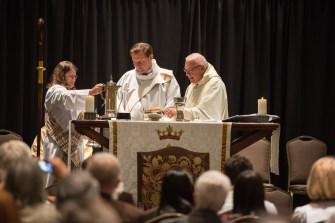 Convention Eucharist - The 14th Annual Gathering and 128th Annual Diocesan Convention of The Diocese of West Missouri Image credit: Gary Zumwalt