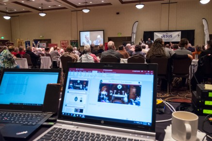My view of The 128th Annual Diocesan Convention of The Diocese of West Missouri Image credit: Gary Allman