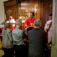 The ordination of Mark Ohlemeier into the Sacred Order of Presbyters at Christ Episcopal Church, Springfield Image: Gary Allman