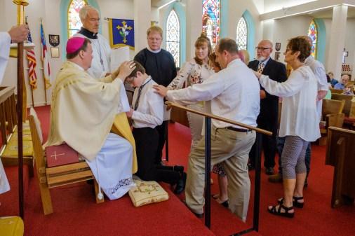 Area Confirmations at Calvary Episcopal Church Sedalia. Image: Gary Allman