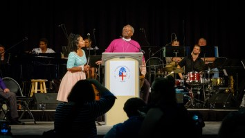 Presiding Bishop Michael Curry: 'God is love and gives life' Image: Gary Allman