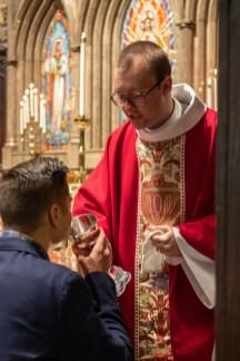 Communion following the ordination of the Rev. Kim Taube and the Rev. Warren Swenson Image: Gary Allman