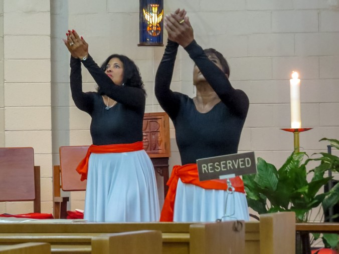 Liturgical Dance. Supplied image.