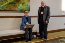 The Rev Elisabeth Sinclair and the Rev. James Moon. Image: Gary Allman
