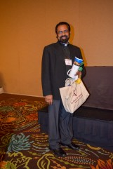 Welcome package for The Very Rev. Jos Tharakan. Image: Donna Field