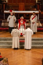 The ordinations of into the Transitional Diaconate of James Yazell and Joseph Pierjok at Grace and Holy Trinity Cathedral on March 24, 2019. Image credit: Chris Morrison