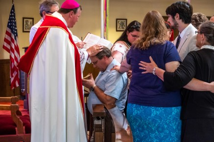 All Saints' Episcopal Church, West Plains. Area Confirmations at St. James Episcopal Church, Springfield. Saturday May 18, 2019. Image credit: Gary Allman