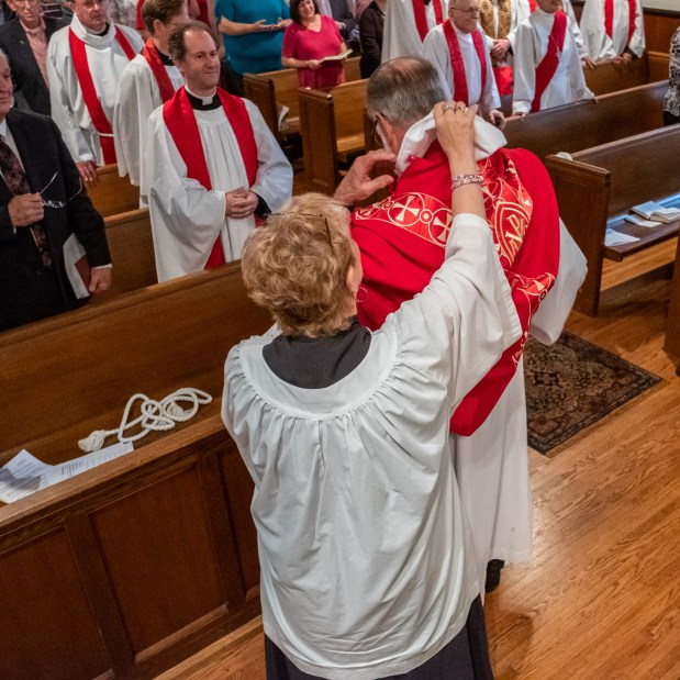 On Saturday, May 18, 2019, Christ Episcopal Church Springfield hosted the Ordination to the Sacred Order of Priests of the Rev. Bradley Heuett and the Rev. Chandler Jackson. Image credit: Gary Allman