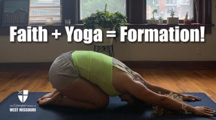 Faith plus Yoga equals formation