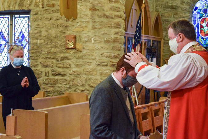 Area Confirmations at St. Peter & All Saints Episcopal Church. November 21, 2020. Image credit: Donna Field