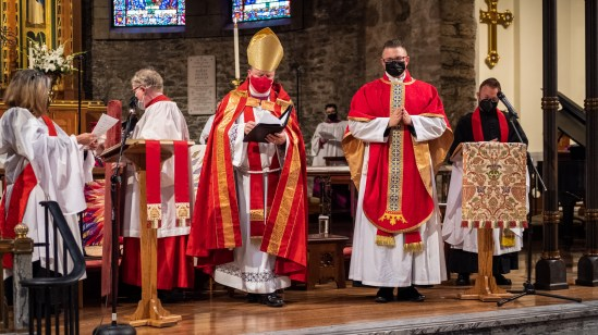 The Ordination of Isaac Ross Petty to the Sacred Order of Priests at Grace and Holy Trinity Cathedral, Kansas City, Missouri. Image credit: Gary Allman