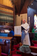 Psalm 146. The Installation of the Rev. James Harris as Priest in Charge, All Saints' Episcopal Church, West Plains, Missouri. Image credit: Gary Allman