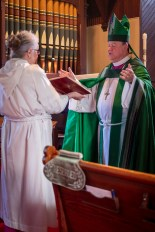 The Gospel - John 15:9-16 - The Installation of the Rev. James Harris as Priest in Charge, All Saints' Episcopal Church, West Plains, Missouri. Image credit: Gary Allman