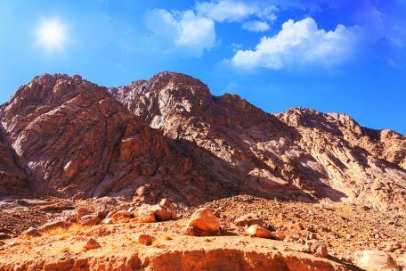 An image of Mount Sinai