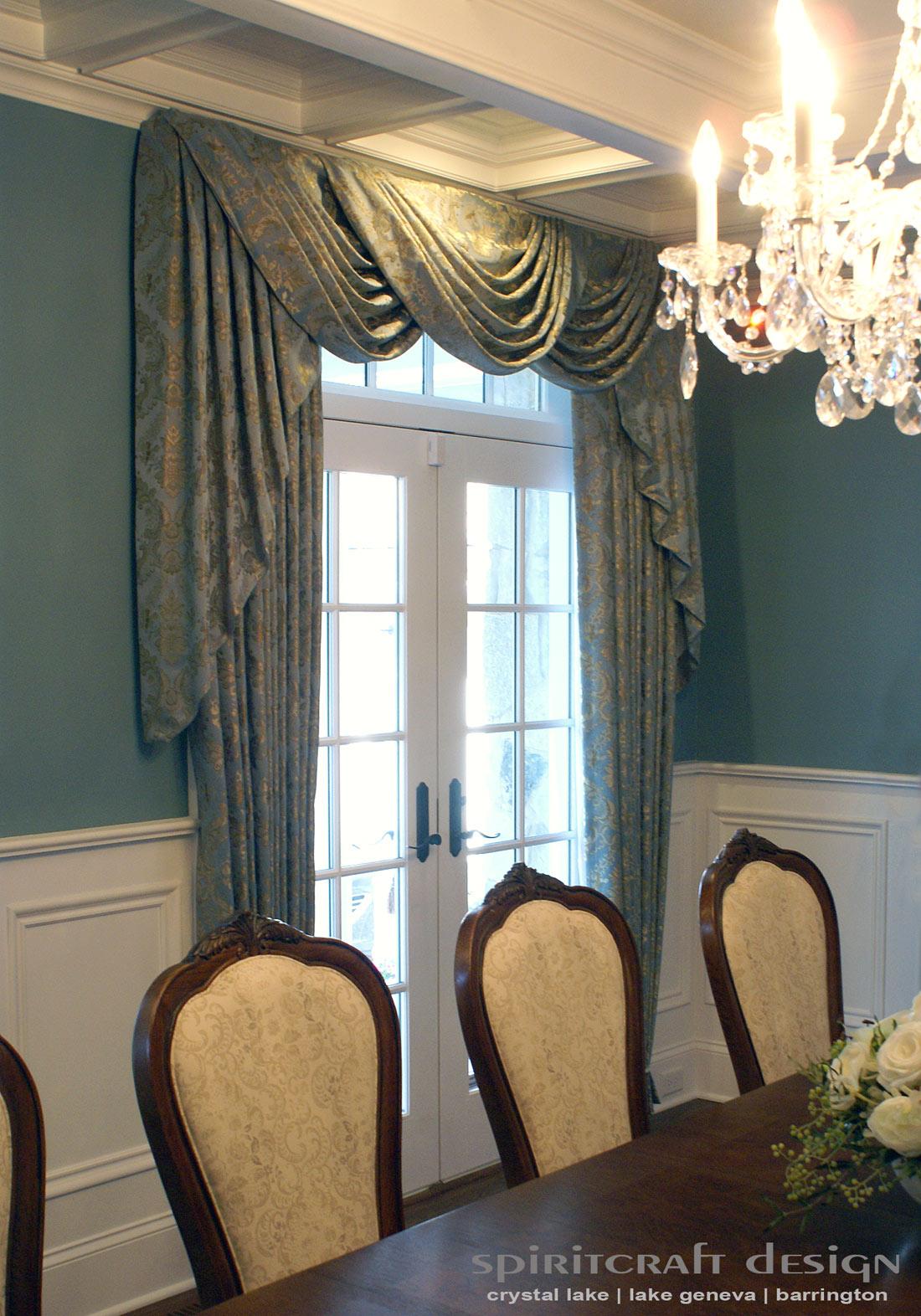Custom Window Treatments D Ry Valance Swags In