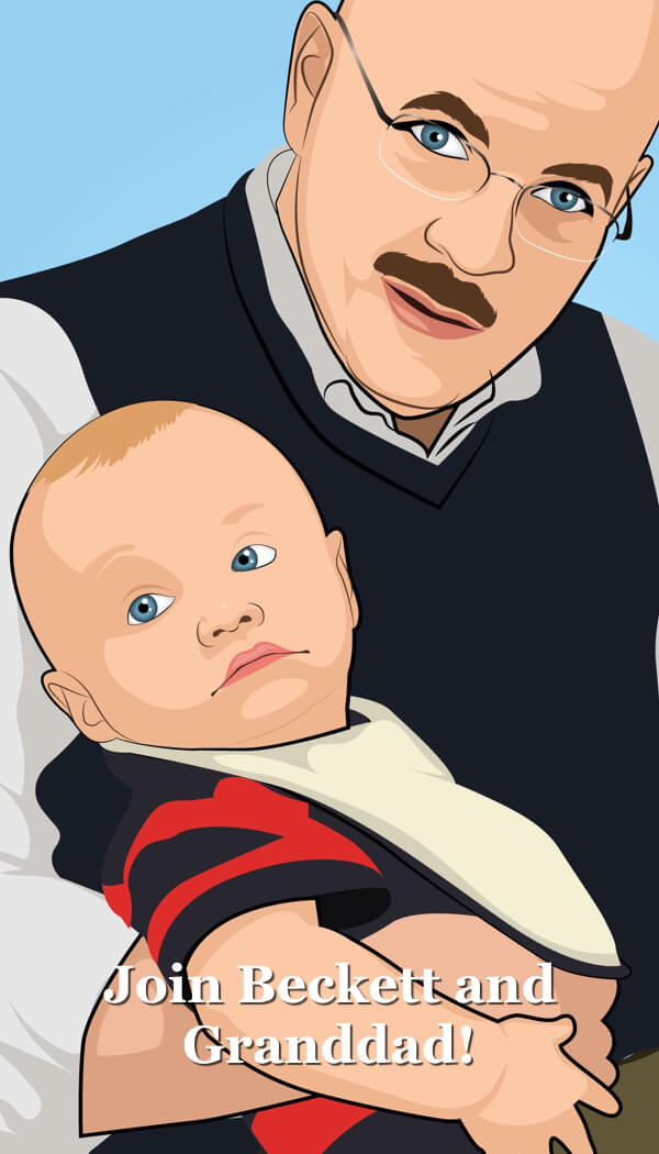 Join Beckett and Granddad at SpiritedGranddad.com