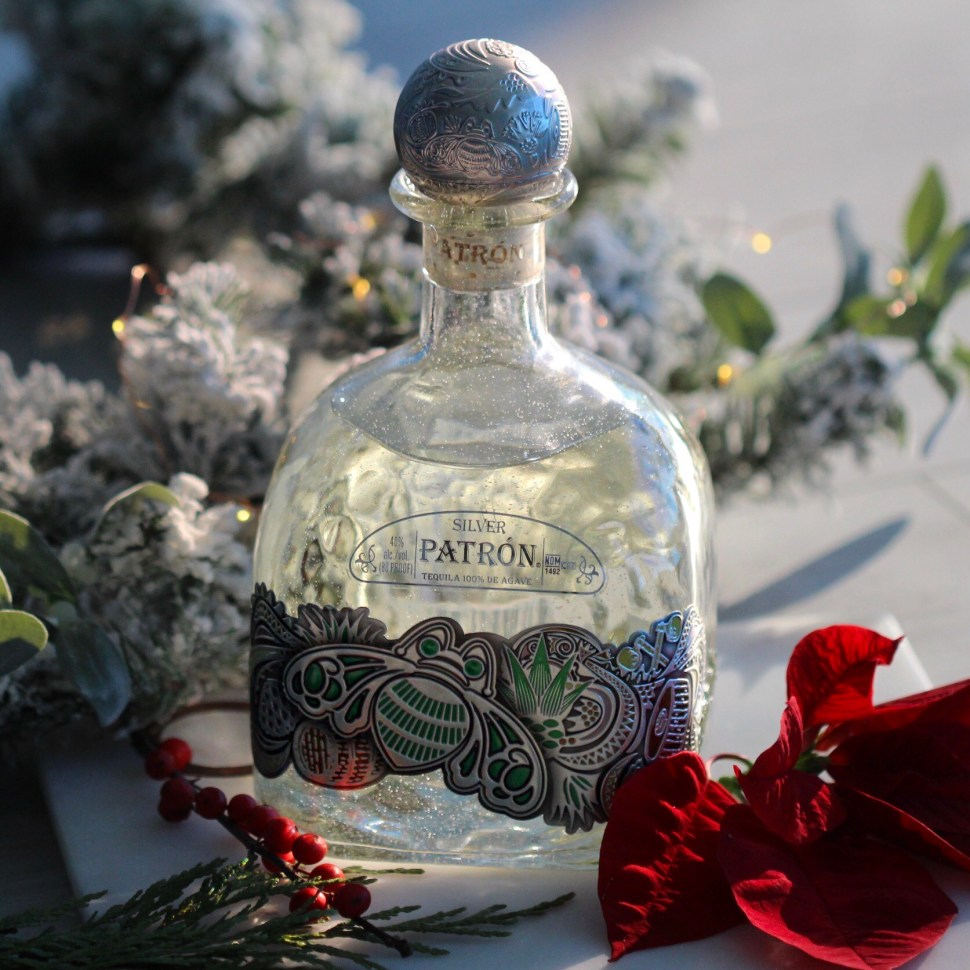 Patron's Limited Edition Large 2017 bottle, perfect for gifting or for making holiday cocktails.