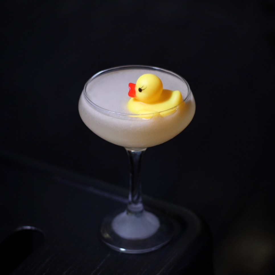 Rubber Ducky at Elm City Social. Photo by SpiritedLA.