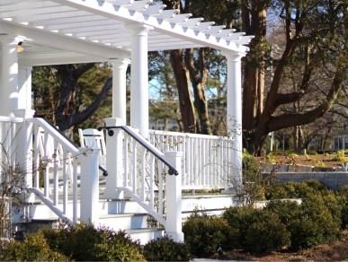 The porch at Margin Street Inn - SpiritedLA