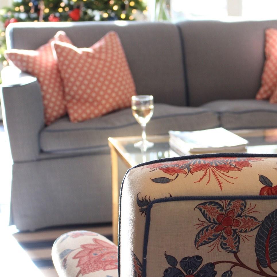 The living room at Margin Street Inn - SpiritedLA