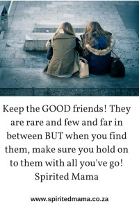 Keep GOOD Friends