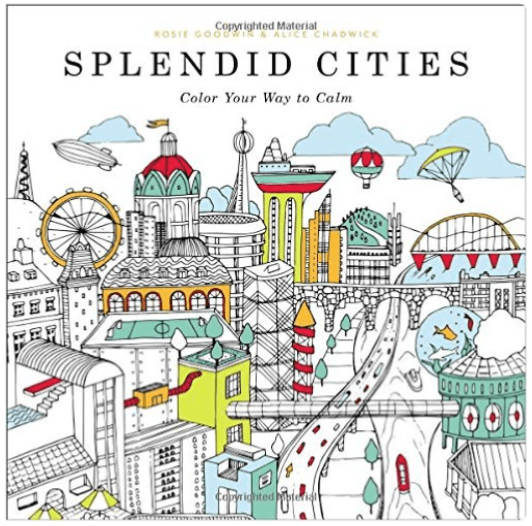 Travel Themed Coloring Books