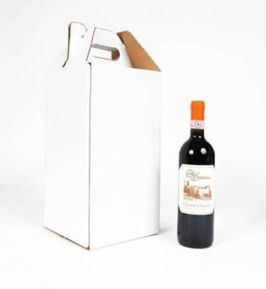 wine carrier for 4 bottles