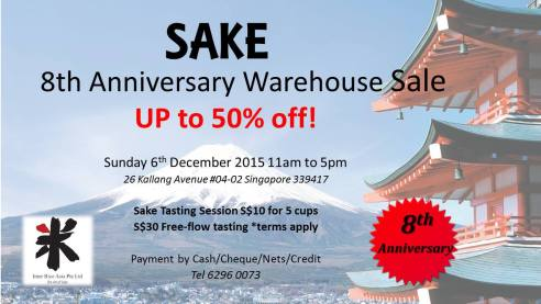 interrice asia sake warehouse sale