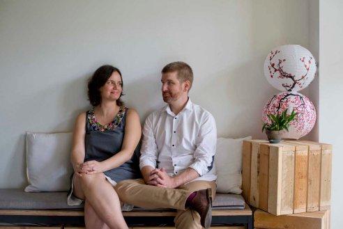 Rick Ames and Simin Kayhan Ames