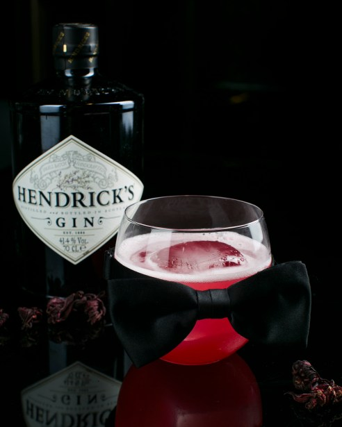 The Gin, The Flower and The Bowtie