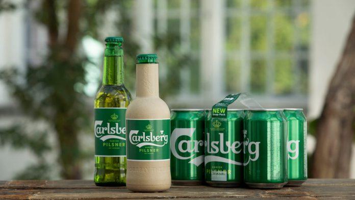 Carlsberg Unveils First Ever Paper Beer Bottle