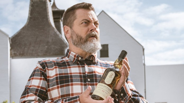 nick offerman whisky